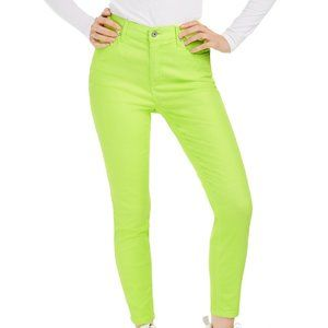 Celebrity Pink Juniors' Neon Colored-Wash Skinny